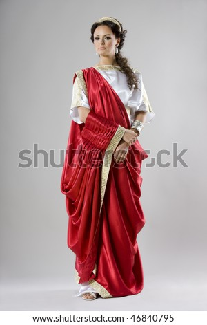 Neo-Classical women like goddess in Roman clothing.