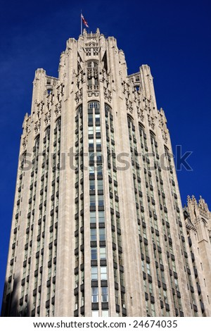 the chicago tribune logo. Chicago Tribune Building,