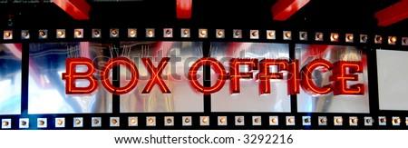 neon box office sign