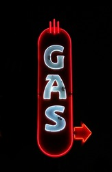Neon Gas Sign
