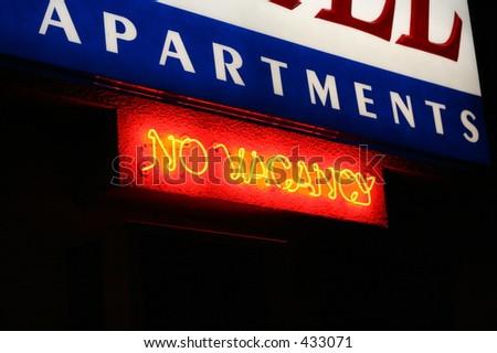 No Vacancy Neon Sign