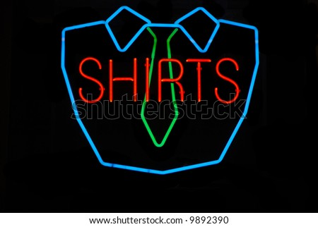 Neon Sign t Shirt Neon Sign at a Dry Cleaning