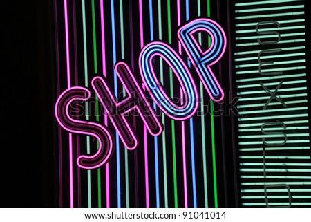 neon sign shop