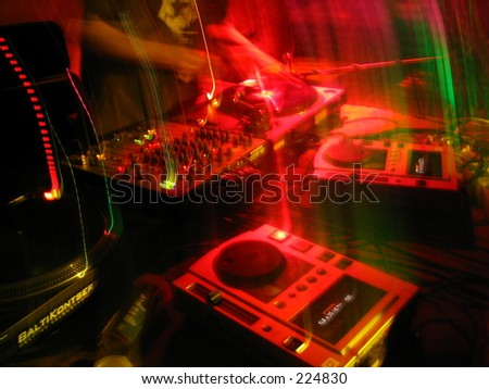 neon turntables