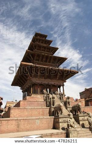 Nepal, Kathmandu, Durbar Square, Pagode, buddhism, landmark
