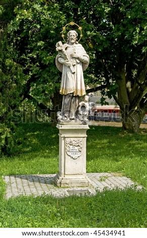 Nepomuk Saint John sculpture
