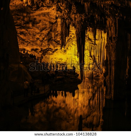 Neptune's Grotto (Italian: Grotta di Nettuno) is a stalactite cave near the town of Alghero on the island of Sardinia, Italy