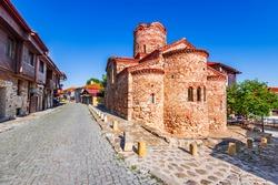 Nesebar, Bulgaria. Church of Saint John the Baptist in the oldtown of Mesembria.