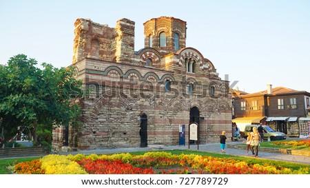 Nessebar UNESCO World Heritage Site in Bulgaria