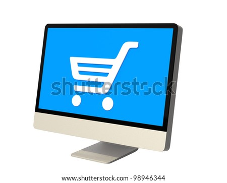 net shopping concept desktop