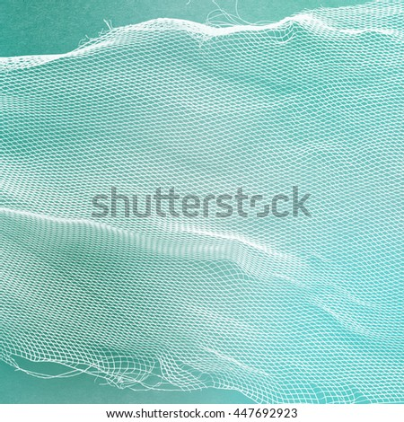net surface - material texture - fibered textile #447692923