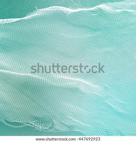 net surface - material texture - fibered textile #447692923