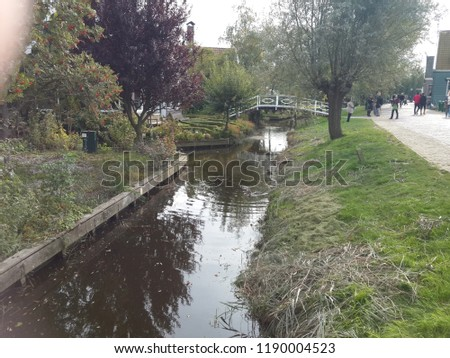 netherland rive waterway