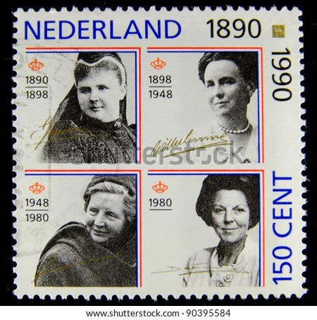stock-photo-netherlands-circa-a-stamp-printed-in-the-netherlands-shows-the-royal-family-circa-90395584.jpg