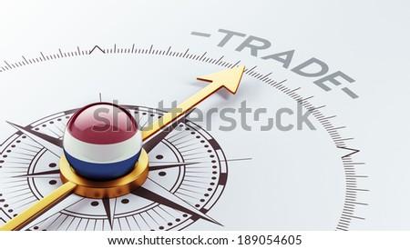 Netherlands High Resolution Trade Concept