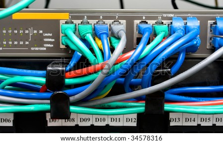 how to connect modem router and switch