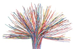 Network cables, transmission of data in telecommunications systems