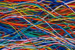 Network of electrical cable and wire