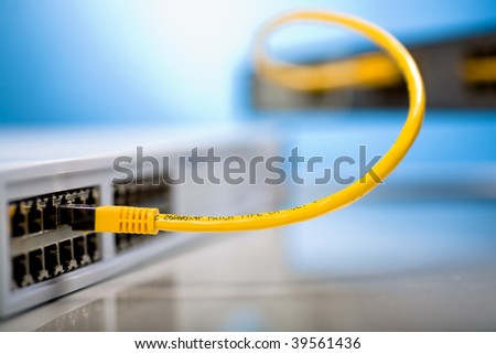 network switches and patch cables