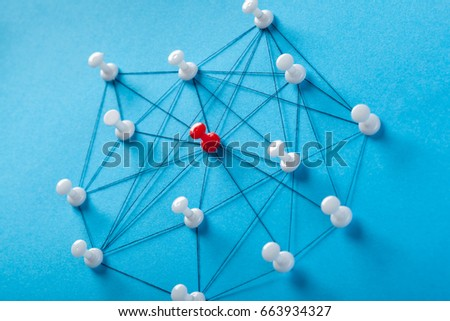 Network with pins #663934327