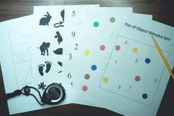neurological test for cognitive function assessment