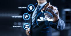 Neuromarketing. Sales and advertising marketing strategy concept.