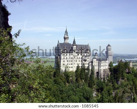 Neuschwanstein, Mad Ludwig's Castle, Fussen, Germany