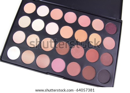 pro makeup palettes. Professional make-up brush