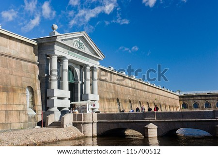 Neva Gate at Peter and Paul Fortress -  St Petersburg, Russia