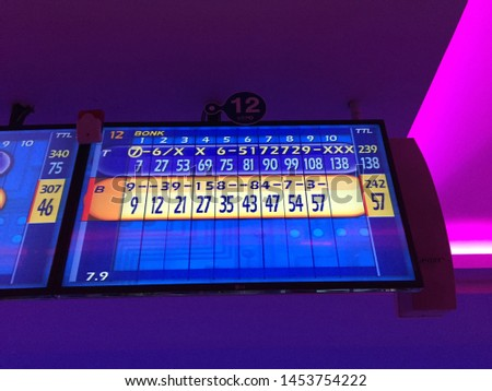 Never ending bowling game in Bangkok #1453754222