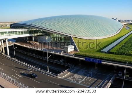 New airport, Beijing, China