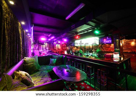 New And Clean Luxury Night Club In European Style