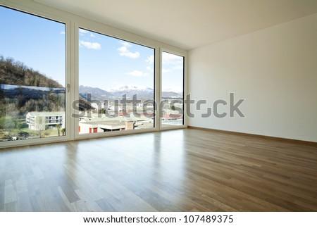 new apartment, interior, empty room