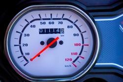 New bike speed meter , speed meter showing zero speed