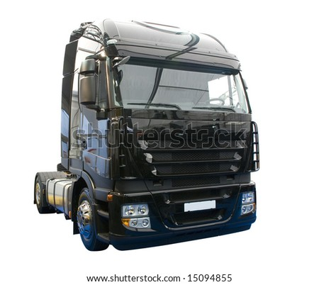 New Black Colored Power Truck Cabin