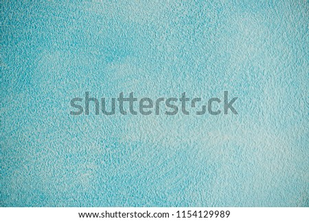 New blue cement wall Beautiful concrete stucco. painted cement Surface design banners.Gradient,consisting,paper design,book,abstract shape Website work,stripes,tiles,background texture wall. #1154129989