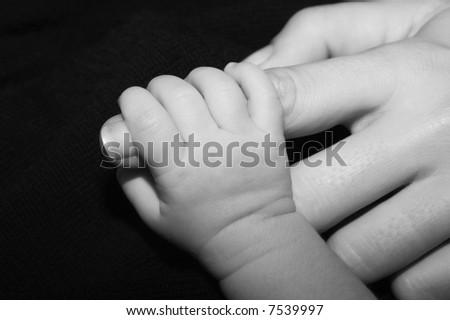 new born fingers