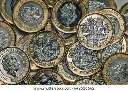 New British Pound Coins (2017 design)
