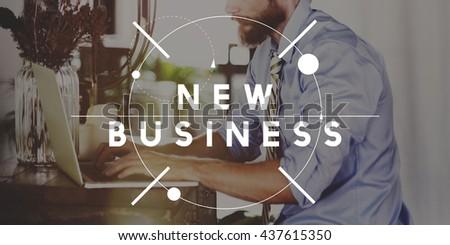 New Business Start up Fresh Ideas Concept