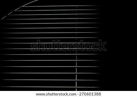 New Chrome Stainless Steel BBQ Grill Black And White Abstract Background