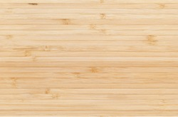 New clean bamboo board with striped pattern, seamless background photo texture