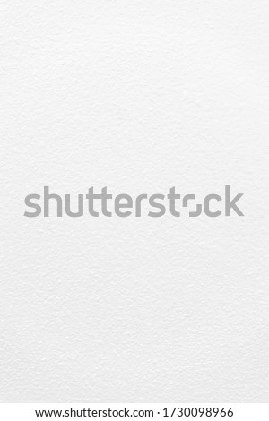 New clean white paper texture, Cement or concrete wall texture background.
