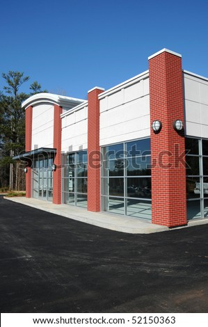 stock photo : New Commercial Building for Sale or Lease