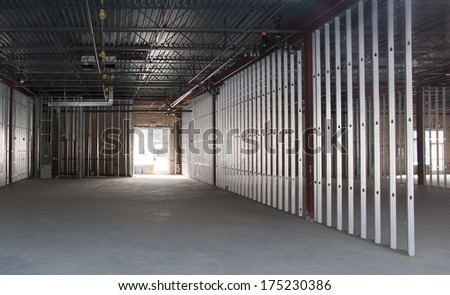new commercial space under construction