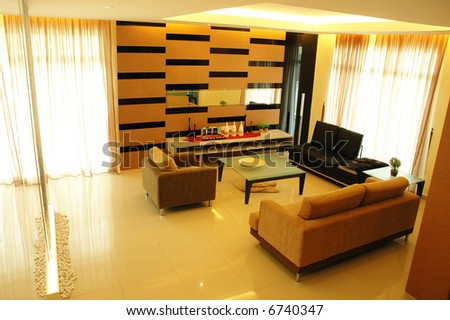 New Concept Modern Living Room Interior Design Stock Ph