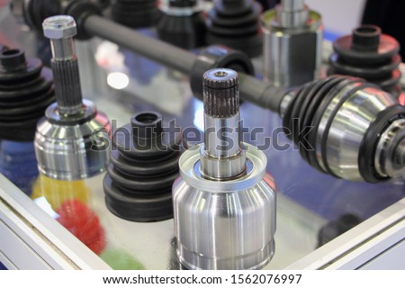 New constant velocity ball joints, anther and CV-joint drive shaft #1562076997