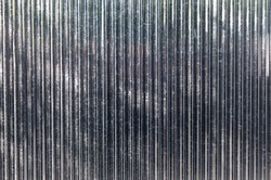 New corrugated metal or zinc texture background. zinc wall background . White Corrugated Metal Wall Texture Background.