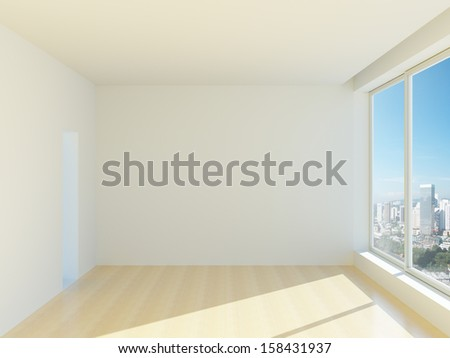 New empty office or apartments