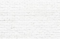 New ERA White brick wall texture for background