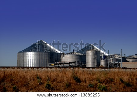 New Ethanol Distillation Plant Under Construction